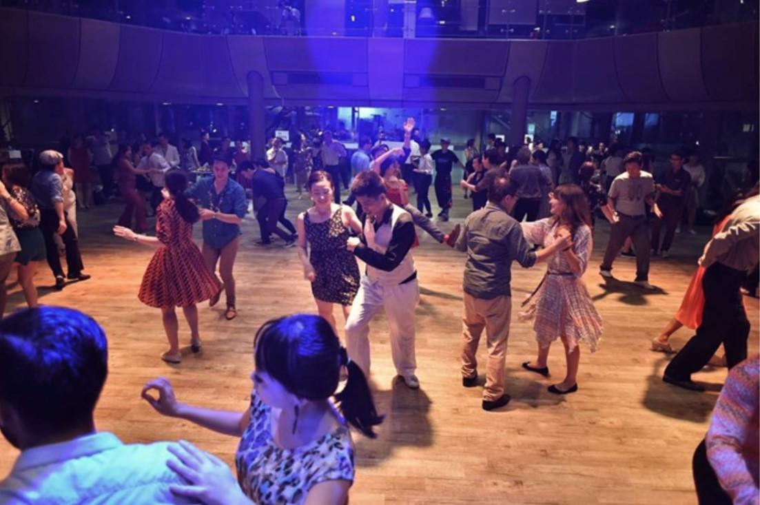 Lindy Hop Singapore Event - Singapore Lindy Revolution